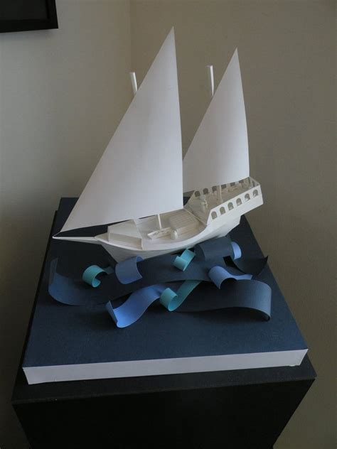 Paper Ship - paper ship by rachemc125 on deviantart