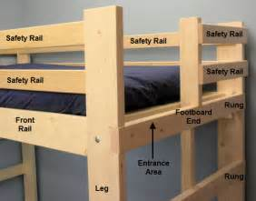 loft bed amp bunk beds product specifications