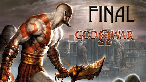 imagenes de kratos dios dela guerra god of war ps2 final el nuevo dios de la guerra youtube
