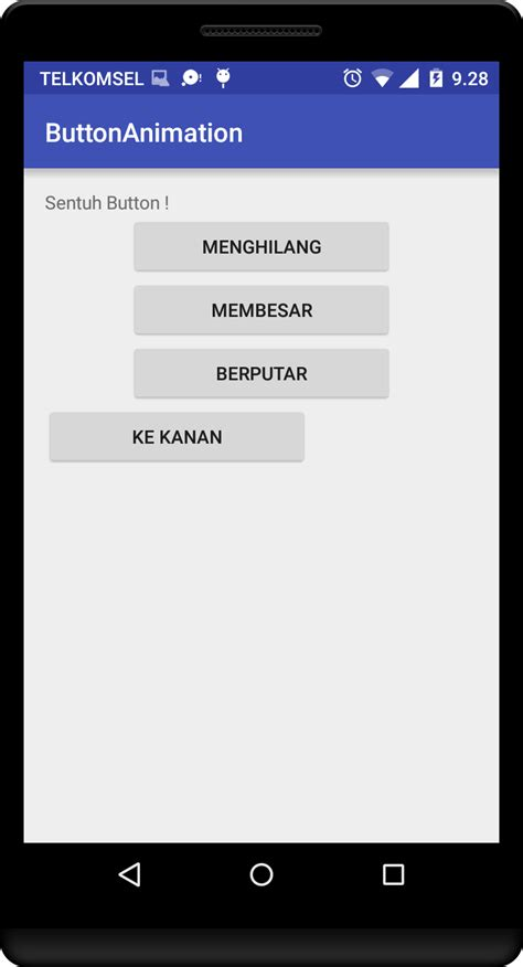 membuat video animasi android belajar android studio membuat efek animasi pada button