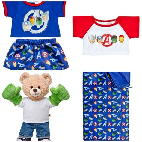Where Can I Buy A Build A Bear Gift Card - build a bear avengers bears and accessories so cute thrifty jinxy