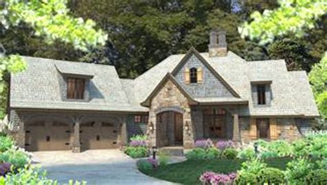 Lake Home Plans Narrow Lot Country French House Plans Amp Euro Style Home Designs By Thd