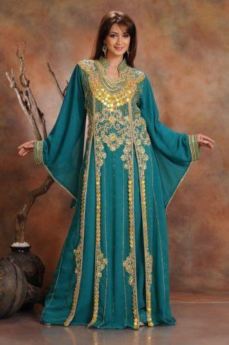 Beautiful Dubai Caftan Abaya Jalabiya Ladies Maxi Dress New Wedding Gown