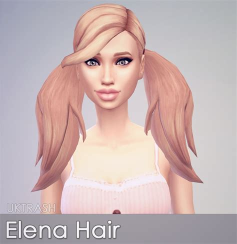 pigtails hair sims 4 so took the teeny ea pigtails longer sims 4 updates