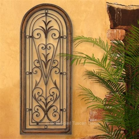 Kirklands Home Decor Store french tuscan italian arched window mediterranean wall