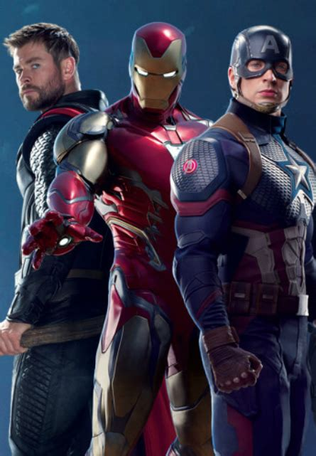 official captain americas avengers endgame