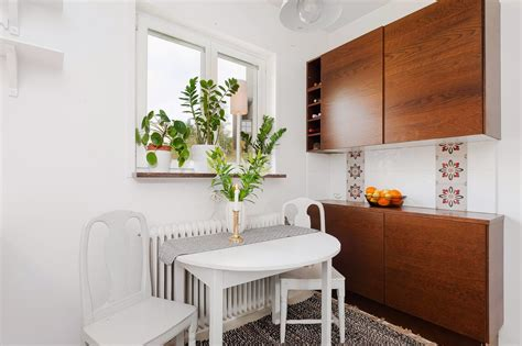 dining table small apartment studio apartment excels in space efficiency with its
