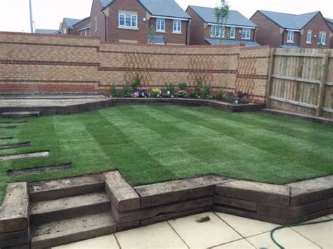 Ideas For Using Railway Sleepers In The Garden Garden Designs Railway Sleeper Garden Designs The 25 Best Railway Sleepers Garden Ideas On