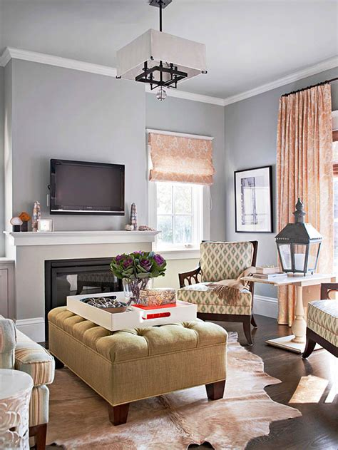 pictures of living rooms modern furniture 2013 traditional living room decorating ideas from bhg