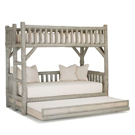 Log Bunk Beds With Trundle 48 Best Images About Bedroom Ideas On Rustic Bedrooms Cabin And Cabin Interiors