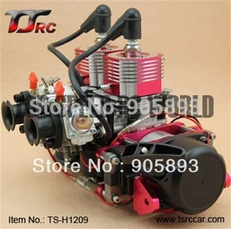 rc gas boat hardware kit free shipping 52cc or 58cc twin cylinder r c boat gas