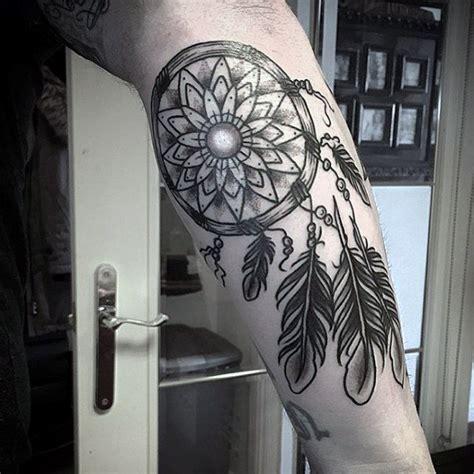 dream catchers tattoos for men 100 dreamcatcher tattoos for design ideas