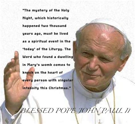 Happy Birthday Papa Jesus Quotes Blessed Pope John Paul Ii Faith J Paul Ii Pinterest