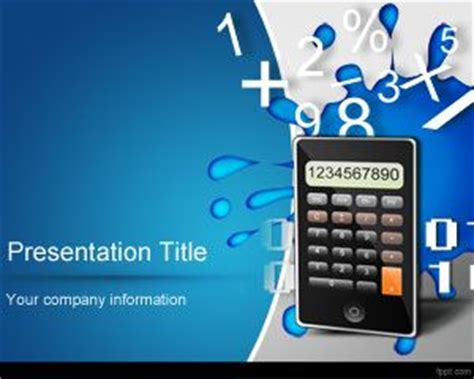 Math Numbers Powerpoint Template Math Powerpoint Templates Free
