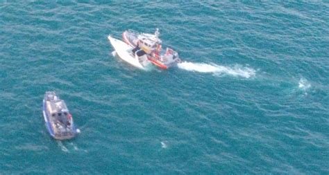 boat sinking lake michigan dvids images coast guard rescues 9 from sinking boat