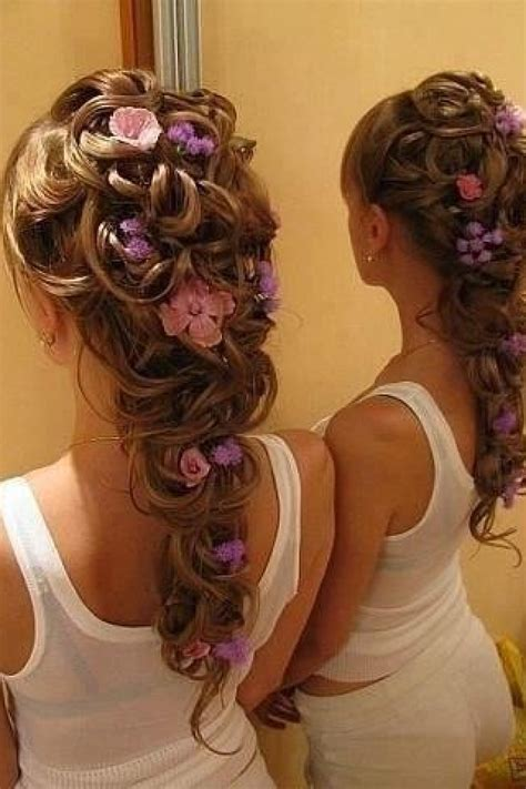 Wedding Hair With Real Flowers by Wedding Hair With Real Flowers