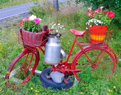 Bicycle Garden Planter by Cheerful Bicycle Planter Got An Bike You No