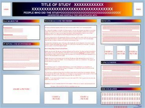 Powerpoint Poster Templates 48x36 by Ppt 48x36 Poster Template Powerpoint Presentation Free