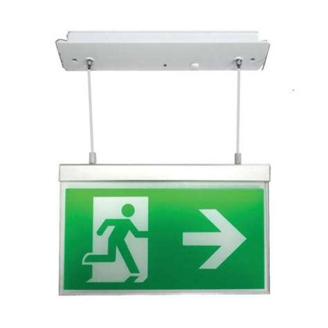 Hanelle Exit channel razor led emergency exit sign with recessed