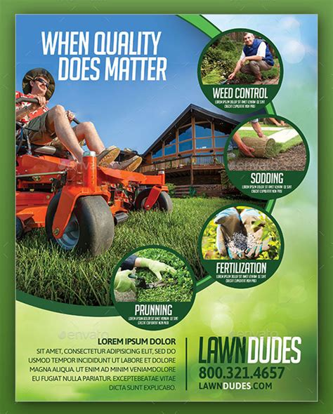 lawn care flyer template svptraining info