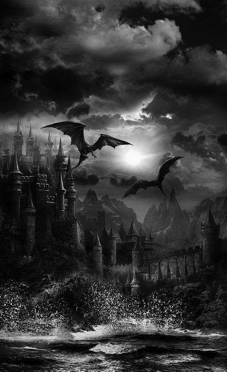 Ad Infinitum | 黑灰 in 2019 | Dark fantasy art, Fantasy art