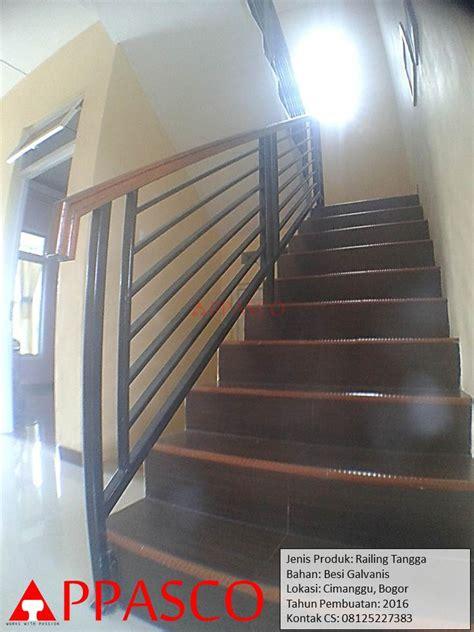 Jual Kandang Pagar Murah Meriah railing tangga minimalis di cimanggu bogor jual kanopi