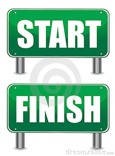 start to finish start finish illustration banners stock photos image
