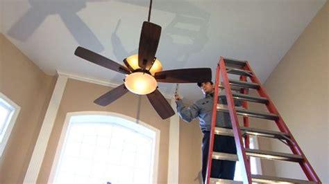 how to install ceiling fan bracket ceiling fan installation installing the bracket