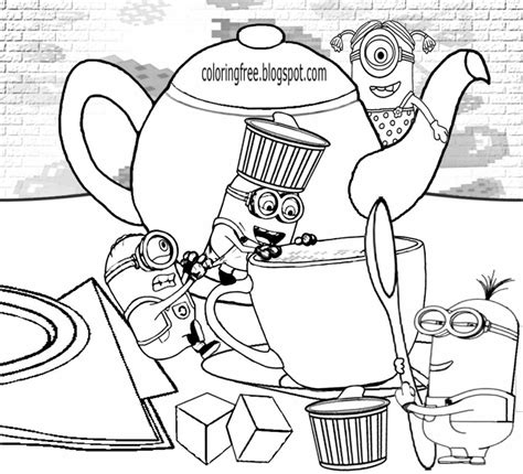 creative tea time coloring book coloring books free coloring pages printable pictures to color