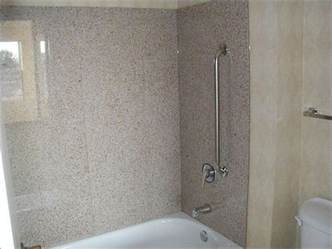 Surround Bathtubs Kits by Granite Slabs Granite Tub Surround Slab Kits Brown