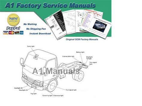 1999 Isuzu Npr Service Manual 1999 2001 Isuzu Truck N Series Factory Service
