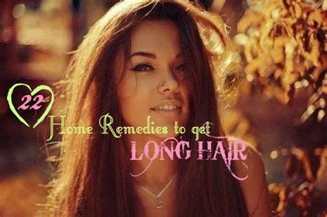 22 home remedies for getting hair home remedies