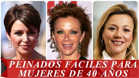 peinados para mujeres de 40 aos cabello y cortes peinados faciles para mujeres de 40 a 241 os youtube
