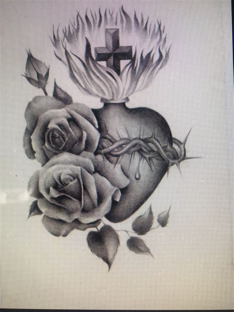 sacred heart tattoo designs pin by cynthia garcia on my next