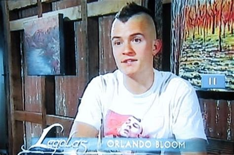 orlando bloom bald post a picture of an actor with a mohawk hottest actors