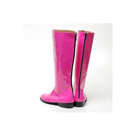s inner leather knee high boots