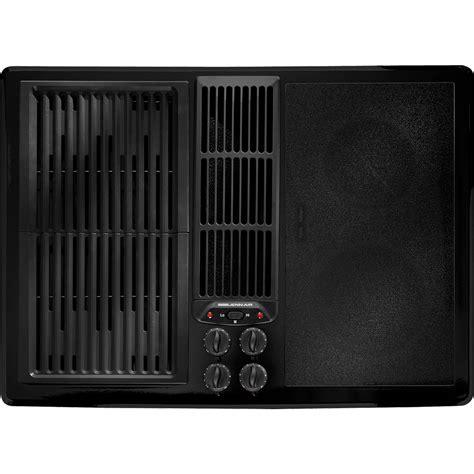 jenn air  electric downdraft cooktop  double bays