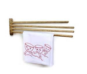 swing arm towel holder vintage swing arm towel holder rustic white wood by veraviola