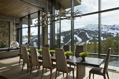 rooms with a view private luxury ski resort in montana by len cotsovolos