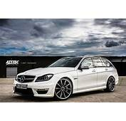 2014 ATT Tec  Mercedes C63 AMG Break Dark Cars Wallpapers