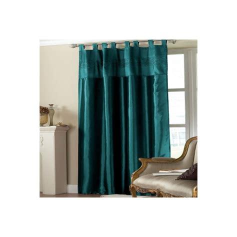 Teal Taffeta Curtains Teal Embroidered Sequin Taffeta Single Panel Curtain Brand New Gift Ebay