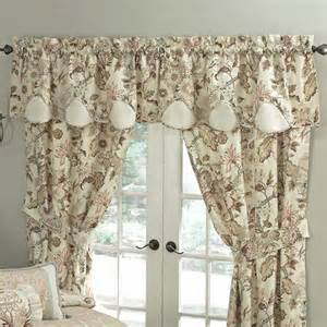 Waverly Curtains Waverly Graceful Garden Scalloped 60 Quot Curtain Valance