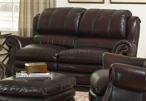 burgundy leather sofa set leather italia burgundy bridgeport sofa loveseat set w