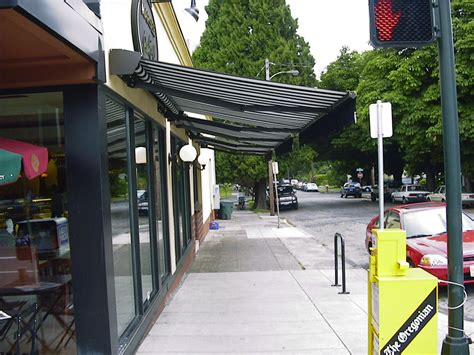 commercial retractable awnings commercial waagmeester awnings sun shades