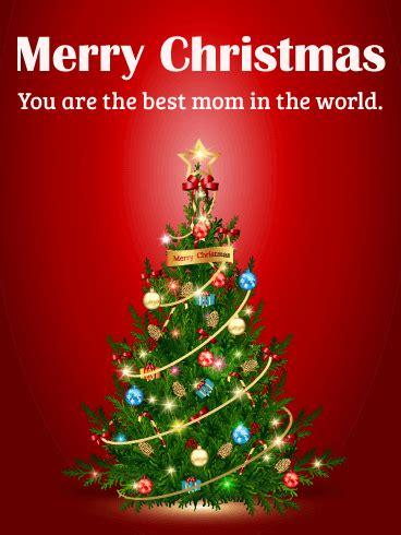 mom merry christmas card birthday greeting cards  davia