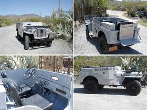 Roy Rogers Jeep Branson Mo Roy Rogers Museum Auction The Cj2a Page