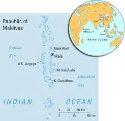 Maldives On World Map by Maldives Map And Maldives Satellite Images