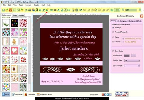 invitation card software greeting cards designing software design new year