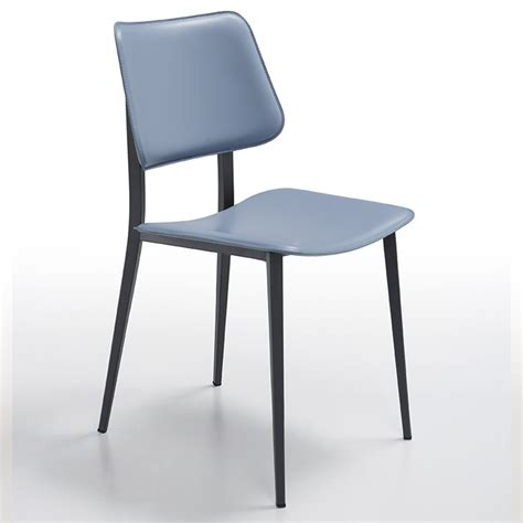 sedie acciaio sedia in acciaio e cuoio joe m cu arredas 236