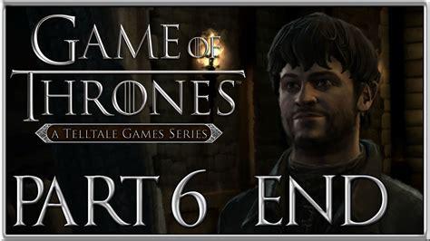 telltale s of thrones episode 1 walkthrough ramsay